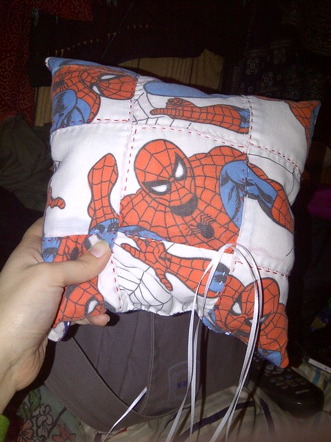 Spider-Man Ring Pillow