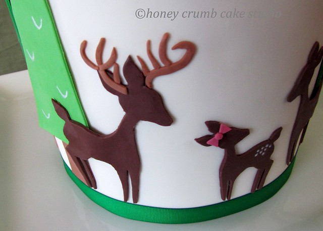 Baby Deer Cake Ideas