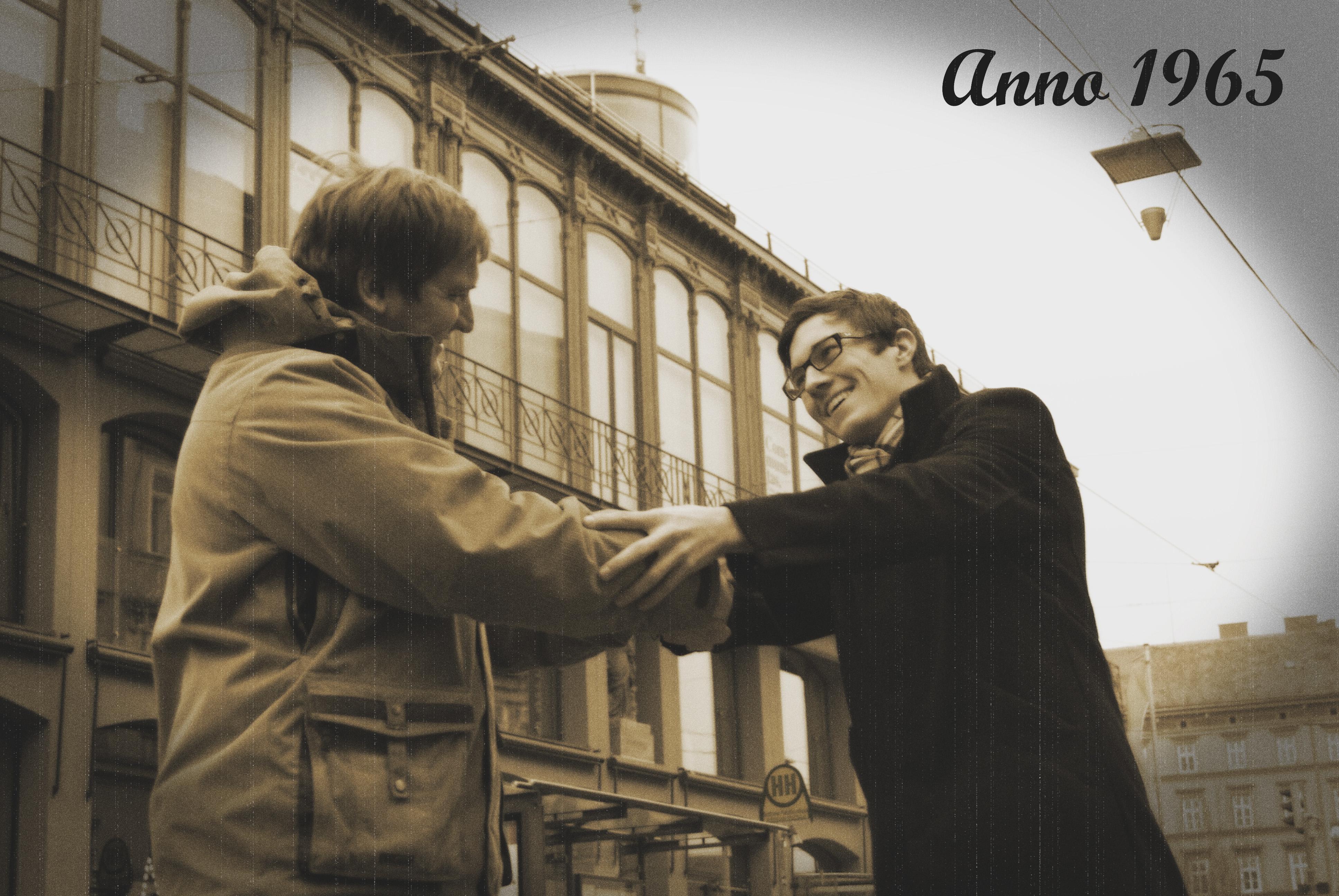 Anno 1965: Klaus und Markus treffen sich...