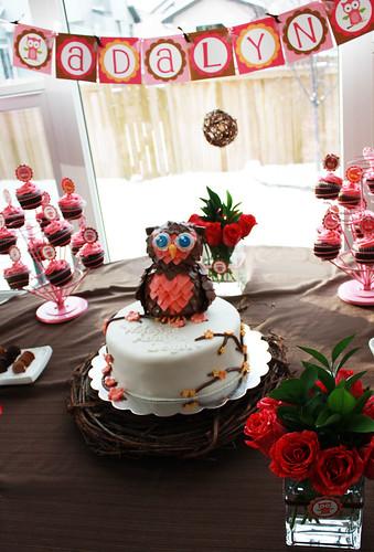 owlcake1 by Cake Maniac