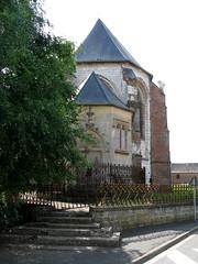 Friville-Escarbotin (église St-Etienne) chevet 8097