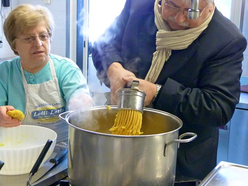 Making passatelli