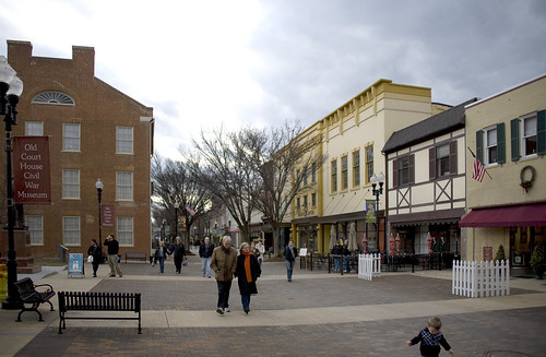 Winchester, VA Pedestrian Mall 20120128