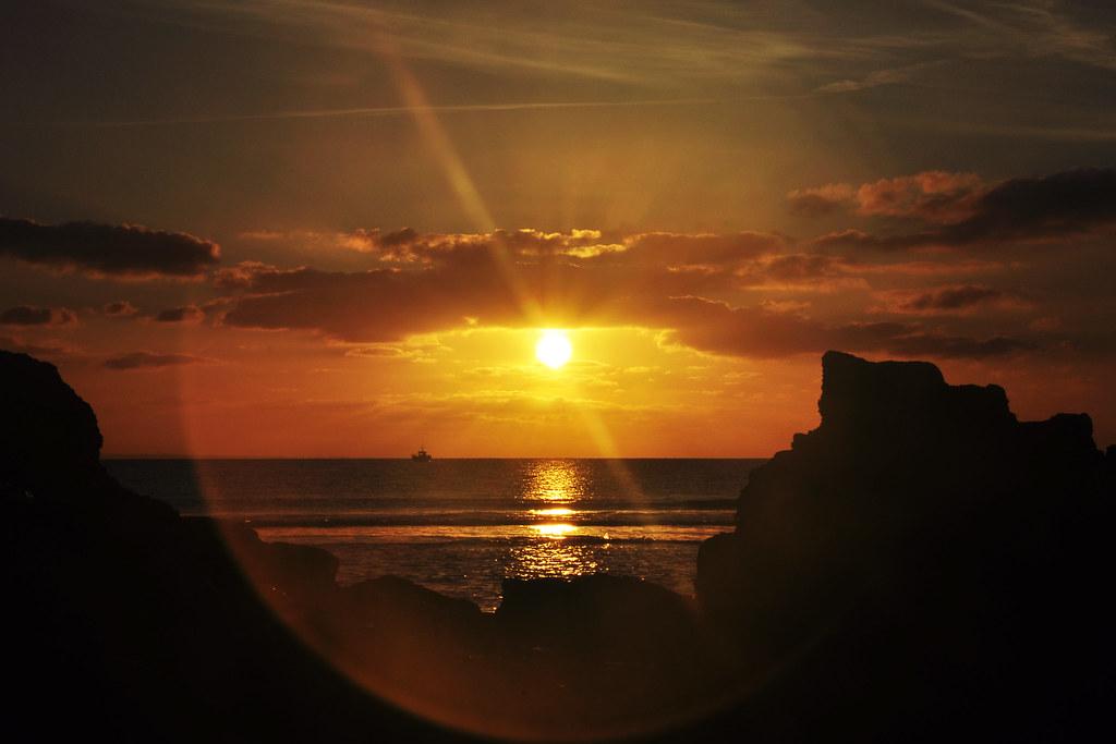 Coucher de Soleil au Rozel (2187)