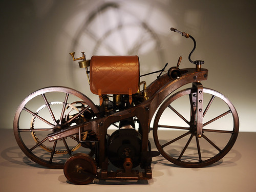 The first motorcycle ever built