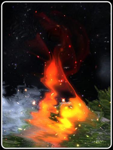 fluid flame