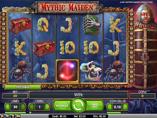 Mythic Maiden slot game online review
