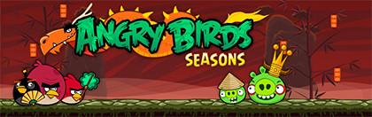Angry Birds Seasons in Apple Mac App Store (SGD$4.99, Rovio)