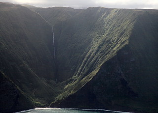 Molokai Waterfall