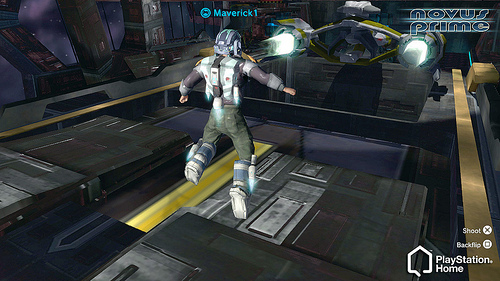 PlayStation Home: Novus Prime Jetpack