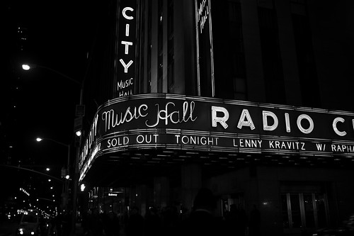 Lenny Kravitz sold out in NY