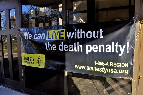 Anti-Death Penalty Summit - Jan. 28, 2012 by C. Elle on Flickr Commons