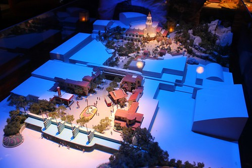 Buena Vista Street model - Blue Sky Cellar