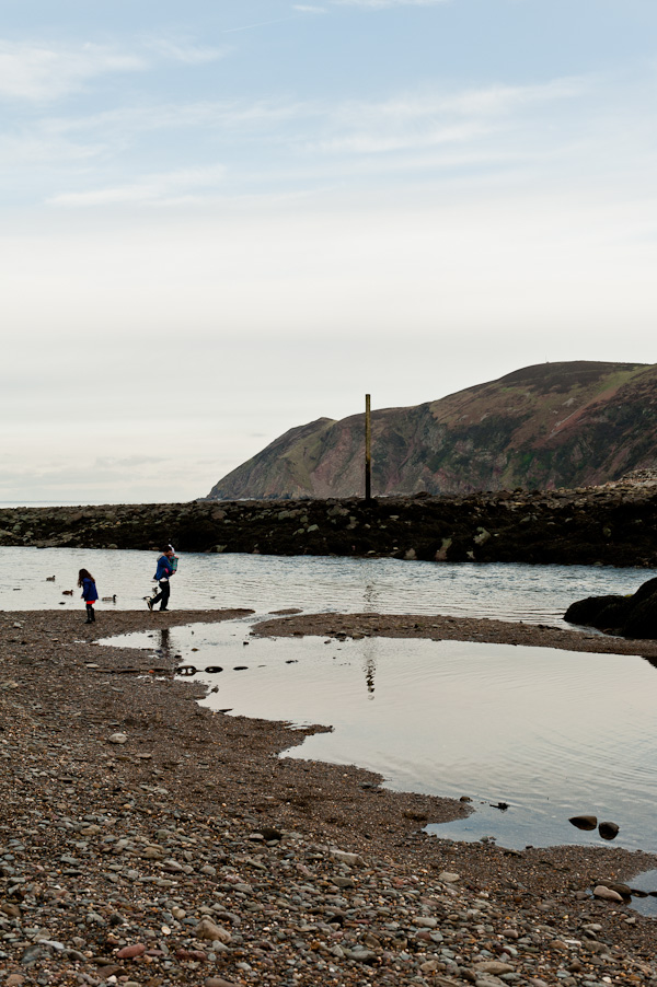 Lynmouth coast
