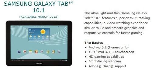 Samsung Galaxy Tab 10.1 US Cellular