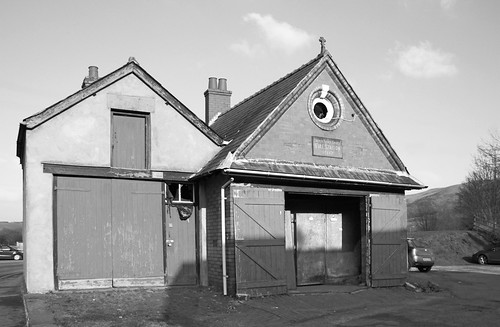 Old fire station in Corwen by Helen in Wales