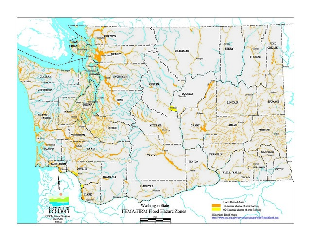WA Flood Hazard Map