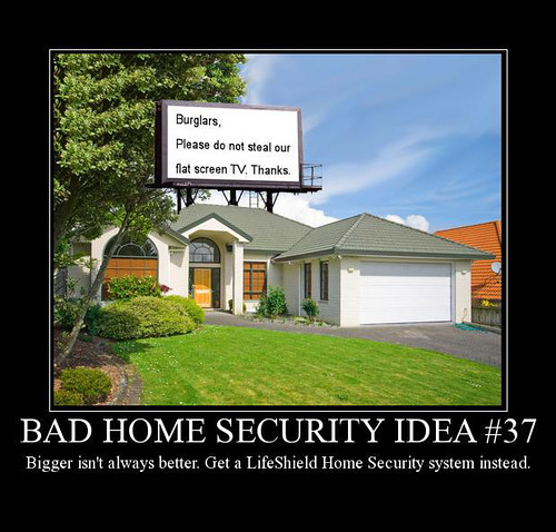 Bad Home Security Idea #37 Photo