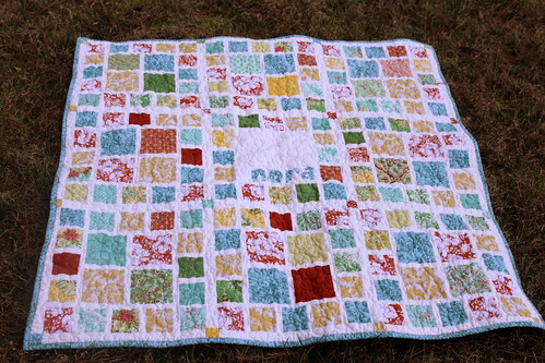 baby quilt for nora