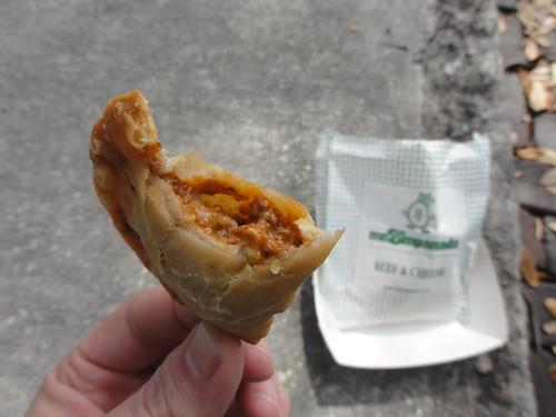 Inside the empanada
