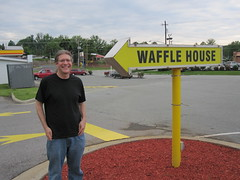 Eric at the Waffle House