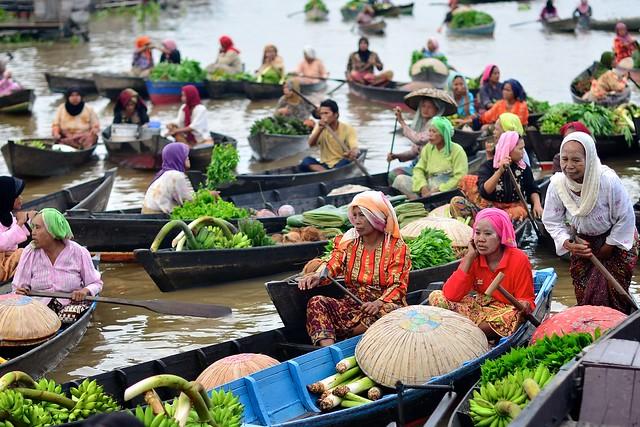 Banjarmasin floating markets