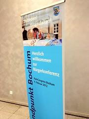 Bürgerkonferenz Bochum: Standpunkt Bochum (im RuhrCongress)