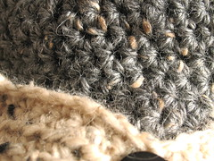 Close-up Donegal Tweed