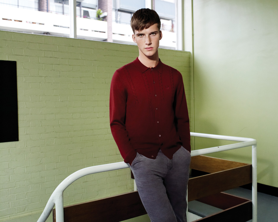 Johnny George0020_FRED PERRY SS12