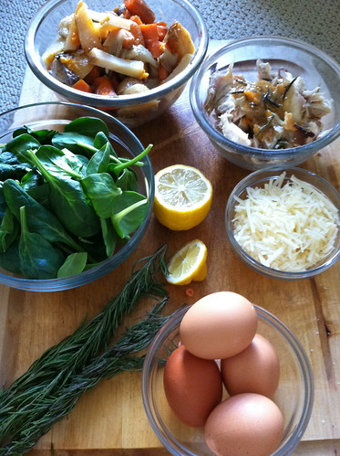 What you will need for the Frittata