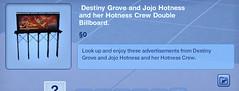 Destiny Grove and Jojo Hotness Double Billboard