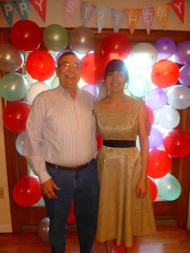 Dad & Sara - 2/5/12