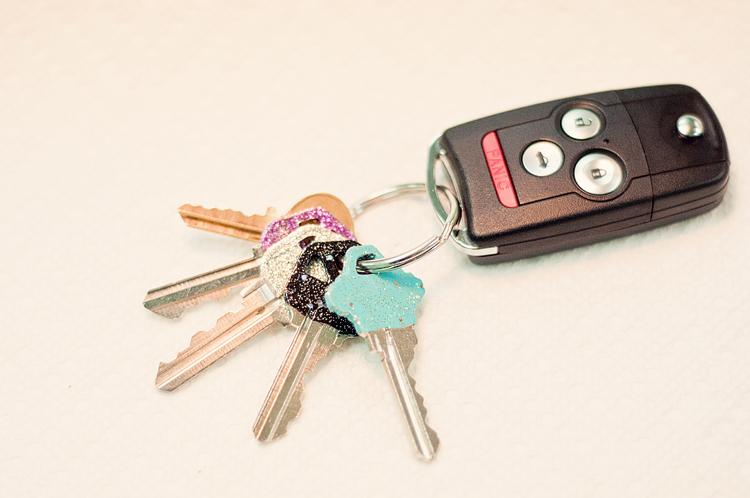 glitter keys-4