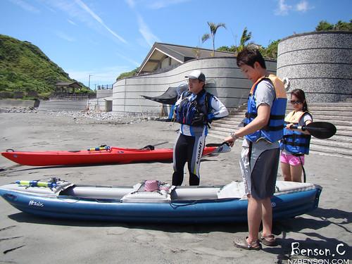 2011.08.15 海上獨木舟初體驗 @ 磯崎海水浴場