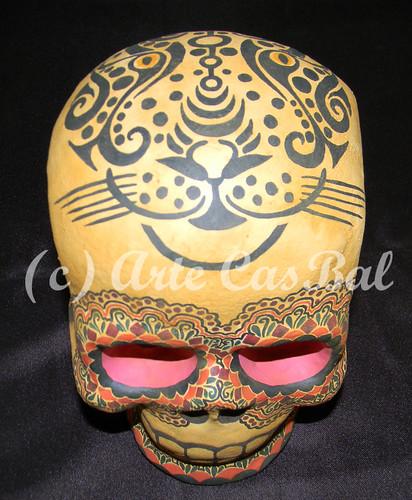 calavera jaguar 2 by artecasbal