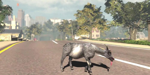 Goat Simulator available on iOS and Android