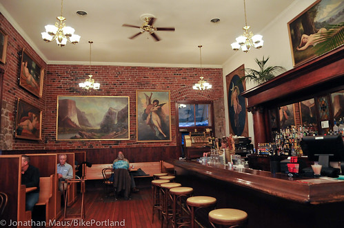 Baldwin Saloon in The Dalles