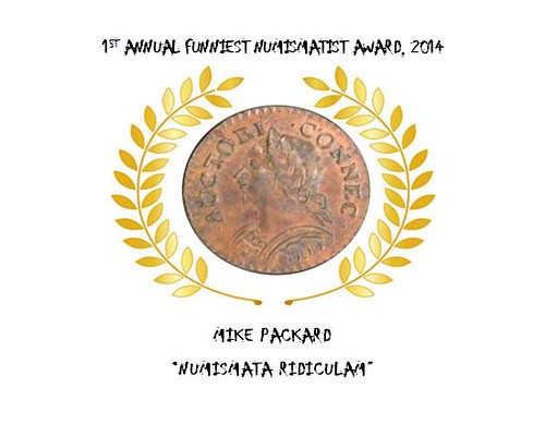 Funniest Numismatist Award 2014