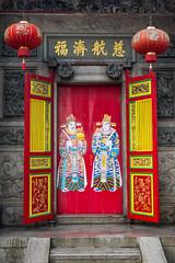 Kheng Hock Keong Temple Door