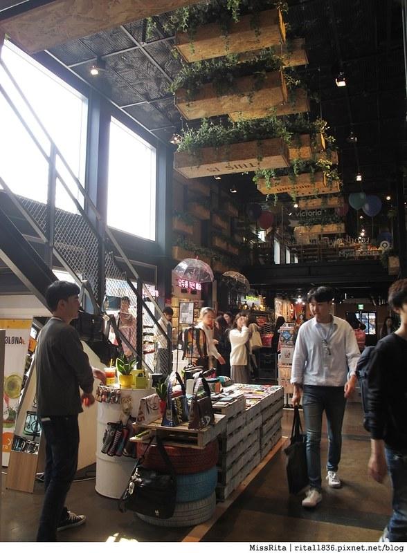 首爾景點 藍色貨櫃屋 common ground 首爾建大 建大捷運站 首爾潮流 2016韓國景點 韓國團體 韓國自由行 世界最大貨櫃屋商城 建大貨櫃屋商場 MARKET GROUND 29