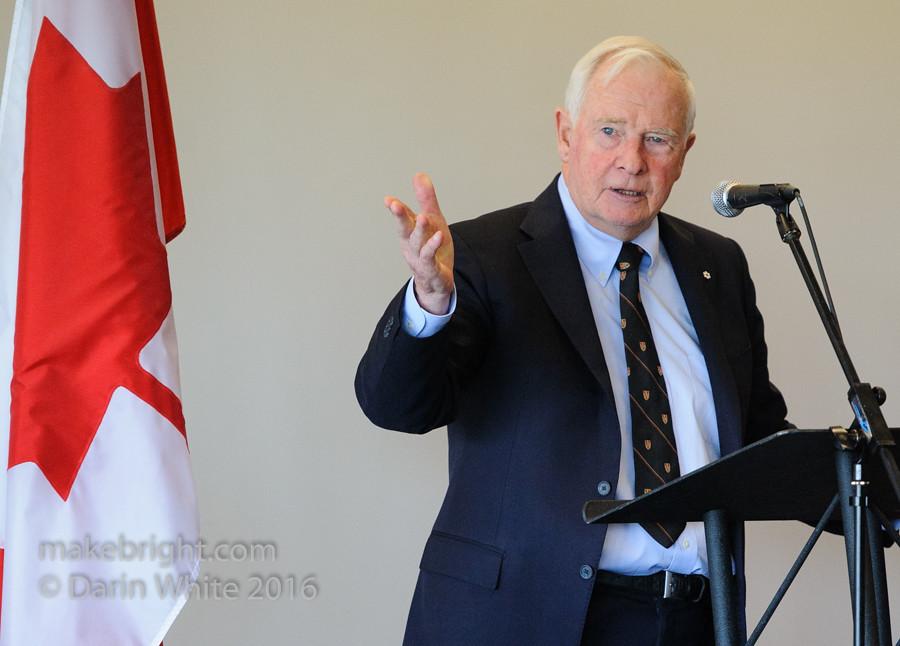 Governor General David Johnston at the AC - May 2016 332-2