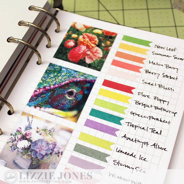 Color Inspiration Page Close Up