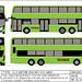 Singapore Land Transport Authority ADL Enviro 500 MMC Mock-up by Hongkonger's Collection