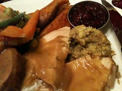 Thanksgiving Dinner @ Boston Oak Room