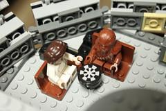 Princess Leia & Chewbacca