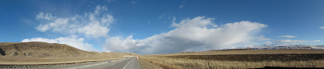 panorama of clouds between Erzurum and Horason