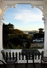 a view from MacCallum House