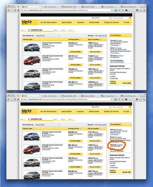 Hertz Car Hire Europe