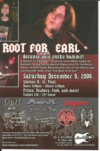 12-09-06 Root For Earl Benefit @ Station 4, St. Paul, MN
