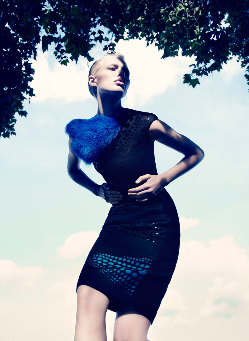 Alys Hale in David Koma by Paul Scala for V Magazine Online 1